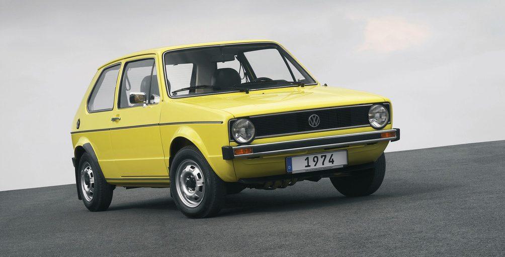 VW Golf I (1974).