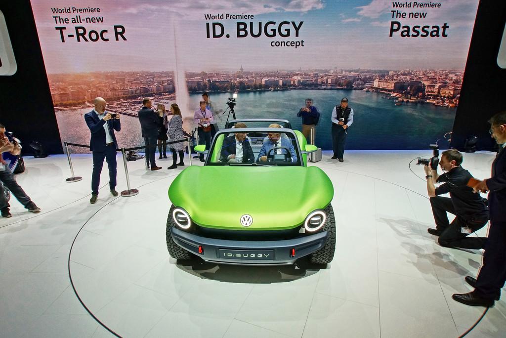 VW ID Buggy auf dem Genfer Automobilsalon 2019