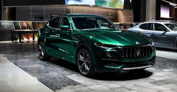 Der Maserati Levante Allegra Antinori One of One wurde vom Maserati Centro Stile vollständig nach den Wünschen seiner künftigen Besitzerin personalisiert.