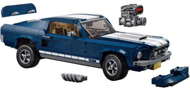 Den Ford Mustang GT Fastback aus dem Jahr 1967 gibt es jetzt als Lego-Bausatz. Insgesamt 1.471 Steine müssen zusammengesetzt werden, bevor dieses legendäre Auto auch im Mini-Format seine ganze Schönheit entfalten kann.