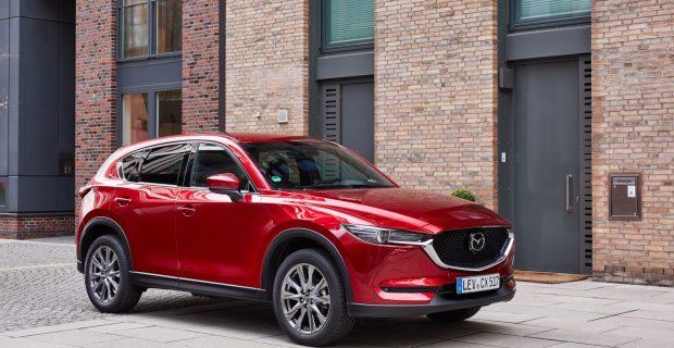 Mazda rüstet den CX-5 auf