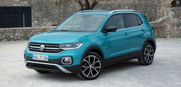 Der T-Cross ist auf den ersten Blick als Mitglied der SUV-Familie von VW zu erkennen.