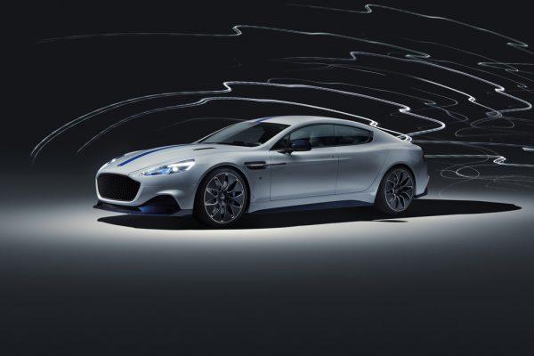 Der erste Aston Martin Rapide E mit Elektroantrieb