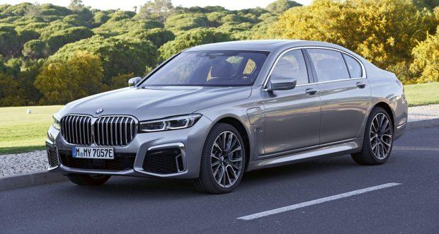 BMW 745Le x-Drive.