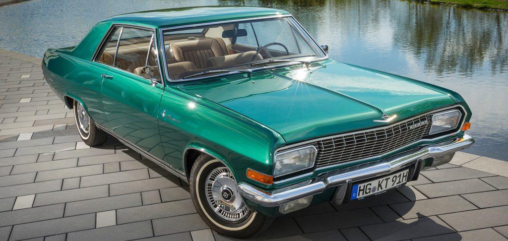 Das Opel Diplomat V8 Coupé mit der Fahrgestellnummer 347 ist das letzte einer bei Karmann gebauten Kleinserie.