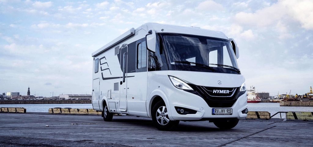 Hymermobil B-Klasse Master Line.