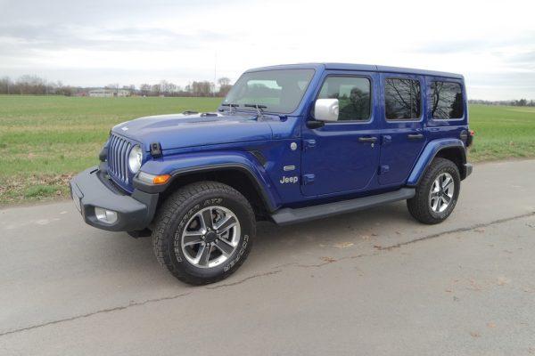 Fahrbericht Jeep Wrangler: Zurück zur Natur