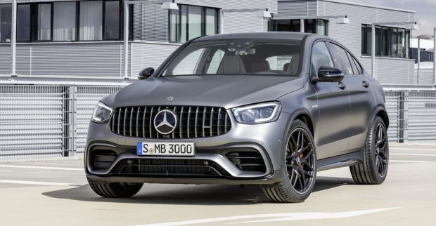 Mercedes-AMG GLC 63 Coupé.