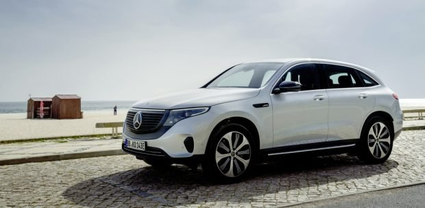 Mercedes-Benz EQC-Edition mit besonderem Auftrag