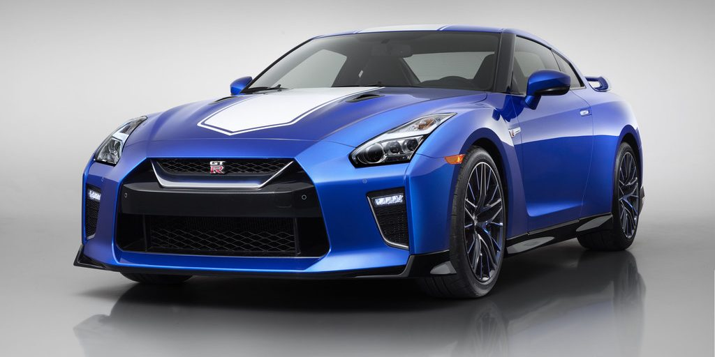 Nissan GT-R 50th Anniversary Edition.