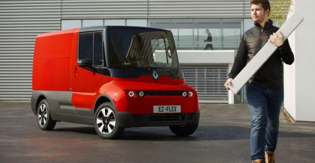 Renault testet elektrisches Cargofahrzeug EZ-Flex