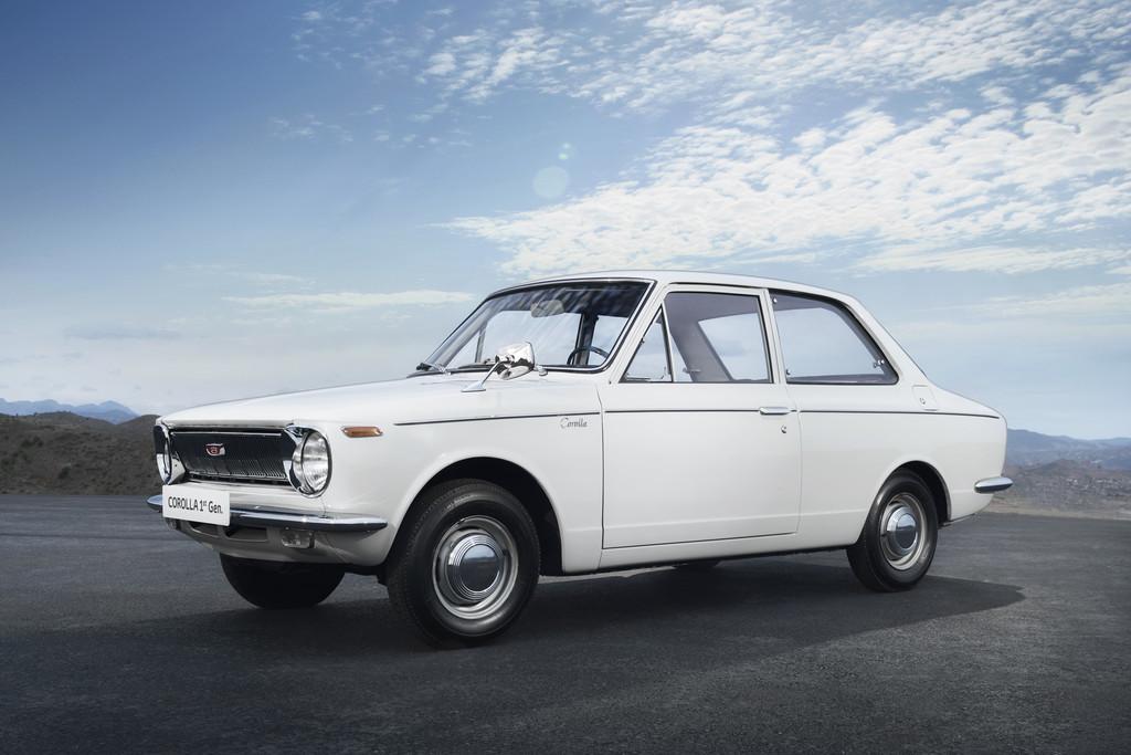 Toyota Corolla (1966–1970).