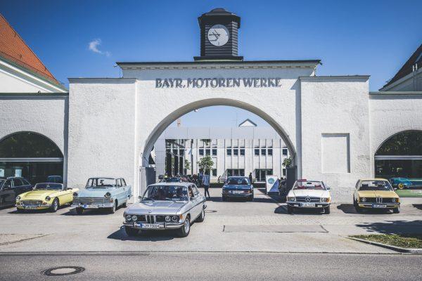 """BMW lockt Klassiker-Freunde mit Weißwurst und """"Brezn"""""""
