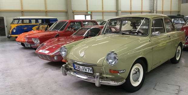 Ein seltener Blick in das Depot von Volkswagen Classic