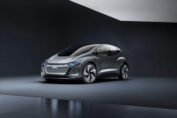 Blick in die Zukunft: die Audi-Studie AI:ME.