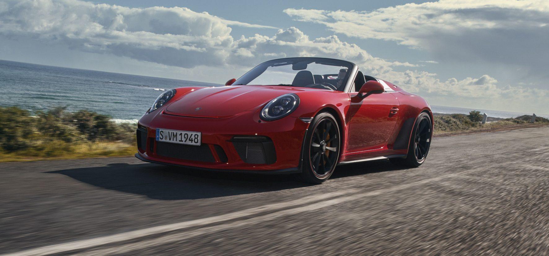 Bis zu 309 Sachen soll der Speedster dank turbofreiem Vierliter-Sechszylinder schnell sein.