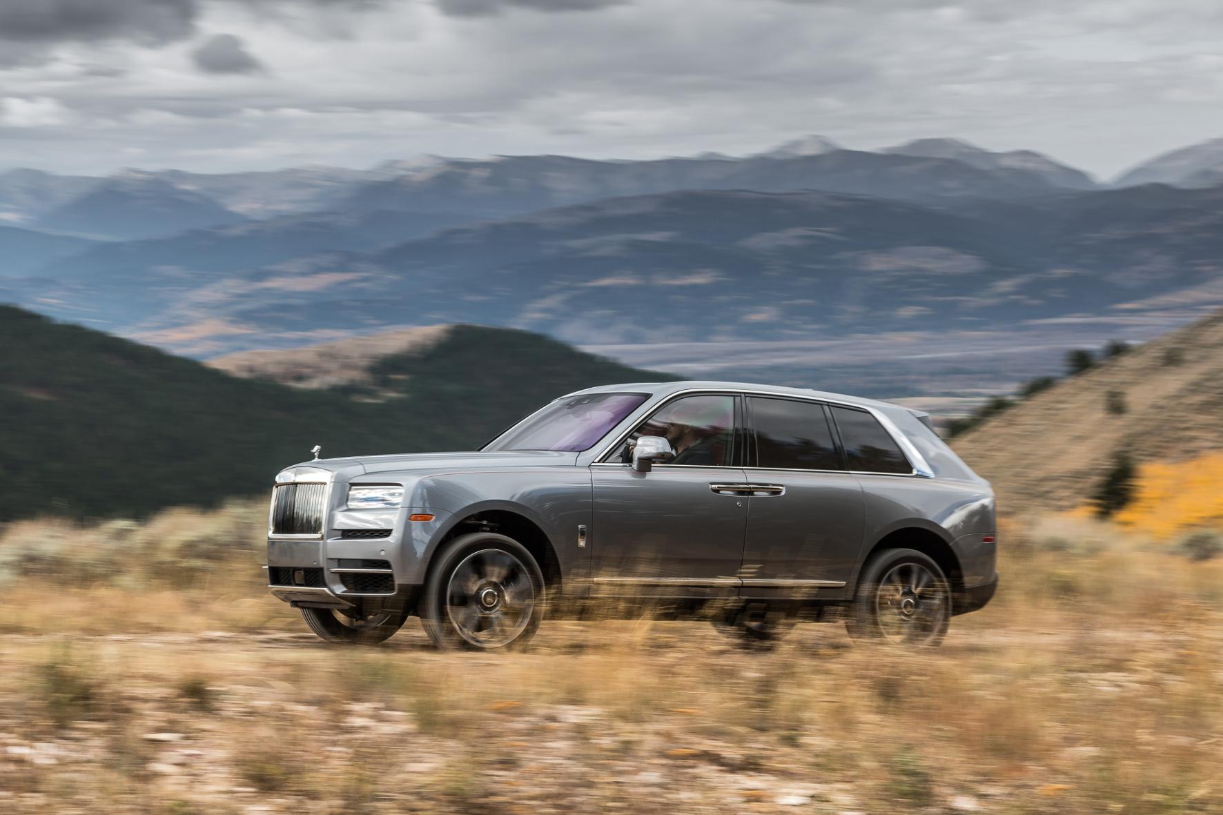 Die Karosse für das XXL-Luxus-SUV Rolls-Royce Cullinan stammt aus Bayern.