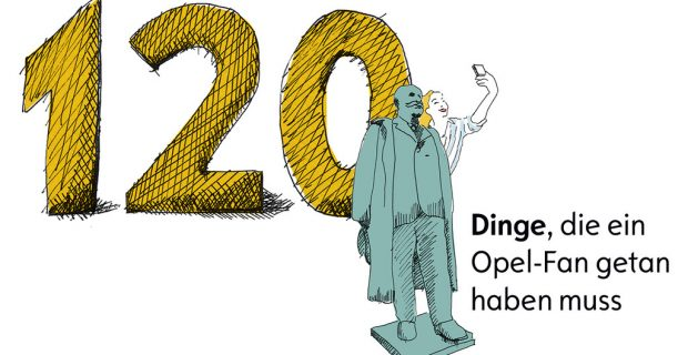 Von Oschersleben bis zum Manta-Teller: 120 Dinge für Opel-Fans