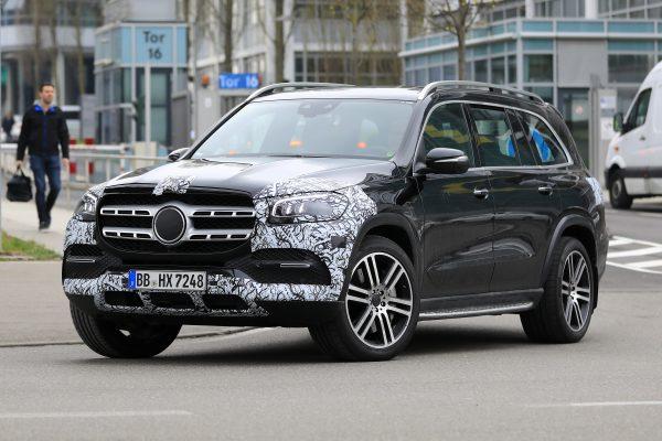 Erlkönig: Mercedes-Benz GLS