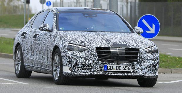 Erlkönig: Neue Mercedes-Benz S-Klasse