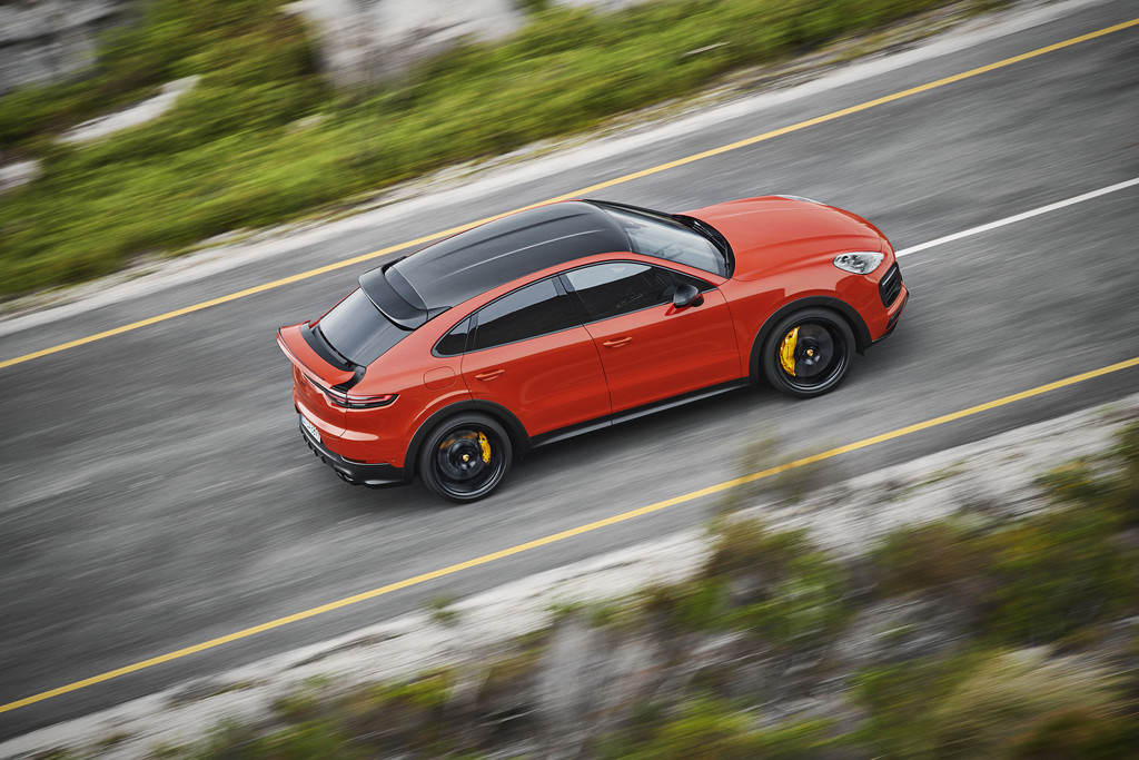 Porsche Cayenne S Coupé.
