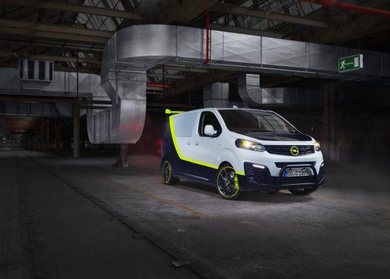 Showcar Opel O-Team Zafira Life.