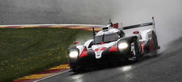 WEC 2019 in Spa-Francorchamps: Toyota TS050 Hybrid.