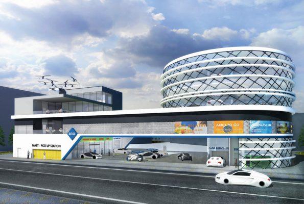 Tankstellen entwickeln sich in Zukunft zur Mobiltätsdrehscheibe