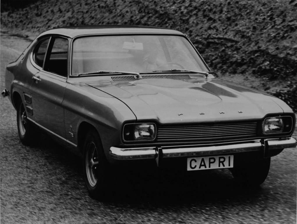 Ford Capri 1700 GT (1969).