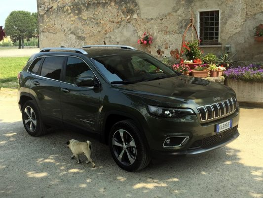 Jeep Cherokee Limited 2,0 T-GDI.