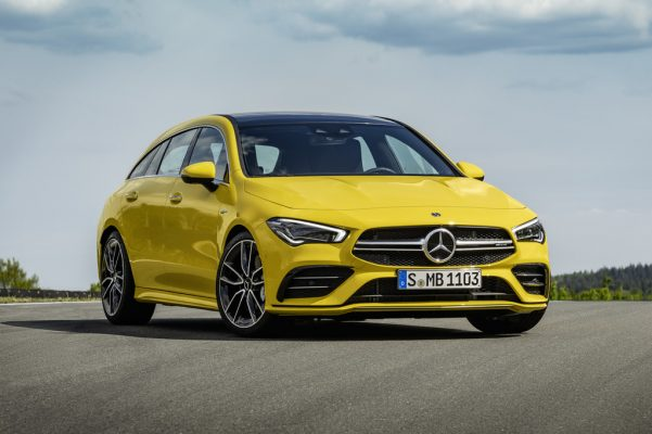 Mercedes-AMG CLA 35 4Matic bald auch als Shooting Brake