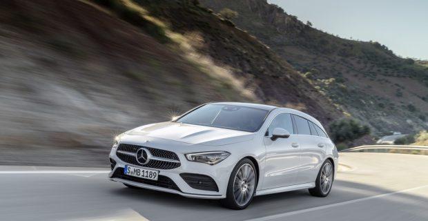 Mercedes-Benz CLA Shooting Brake kann bestellt werden