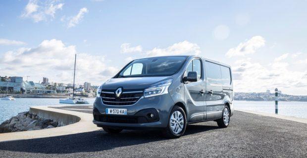 Renault Trafic mit neuer Optik und neuen Motoren