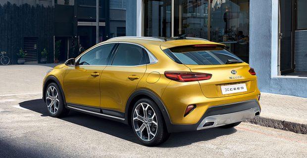 Geräumiger als ein Kompakt-Pkw, dynamischer als ein SUV soll der neue CUV Kia XCeed sein.