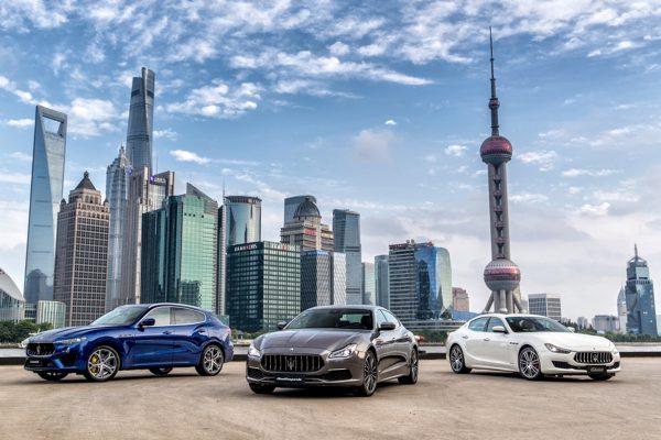 Auftakt in Shanghai: Maserati startet eine 10.000 Kilometer lange Tour durch China.