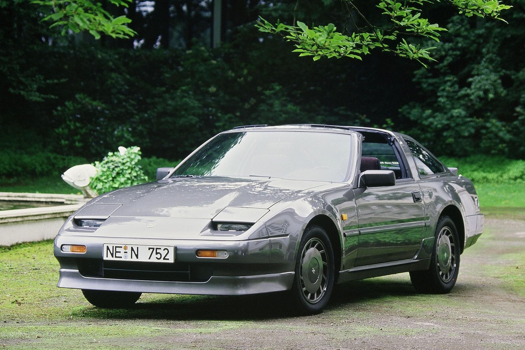 Die verschlafene Optik täuscht; den Nissan 300ZX gab es auch mit Turbolader.
