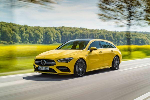 Kompakter mit Stil und Stärke: der neue Mercedes-AMG CLA 35 4Matic Shooting Brake.