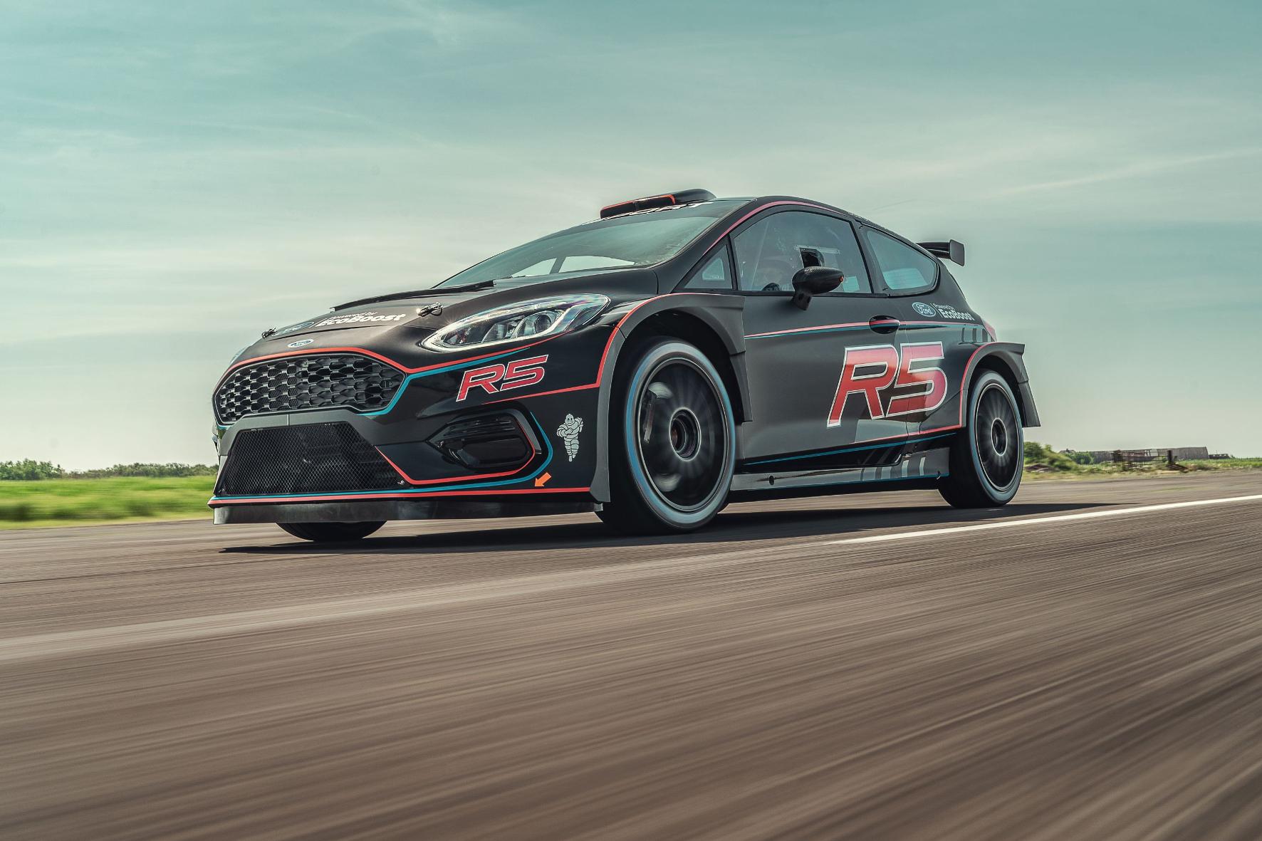 Kraftpaket: Der neue Ford Fiesta R5 ist bereit für sein Rallye-Debüt.