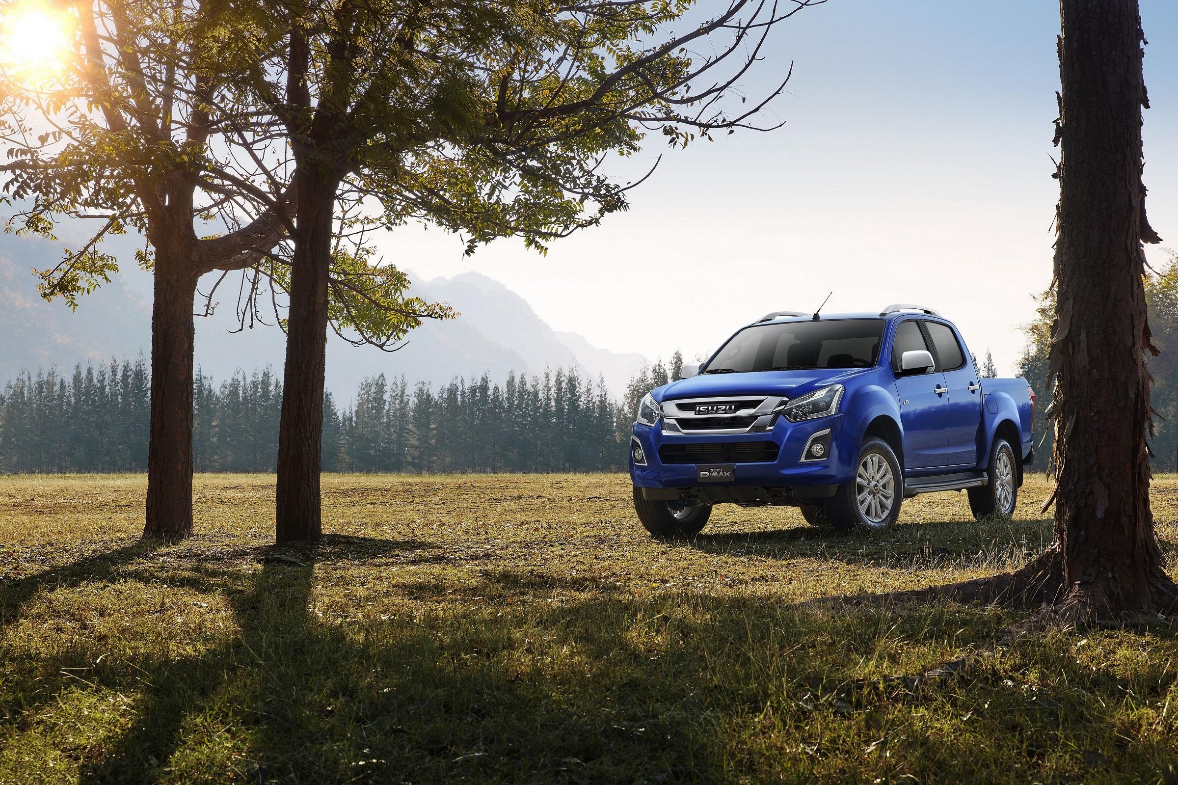 Wiederholt ausgezeichnet mit einem Umwelt-Preis: der Pick-up Isuzu D-Max.