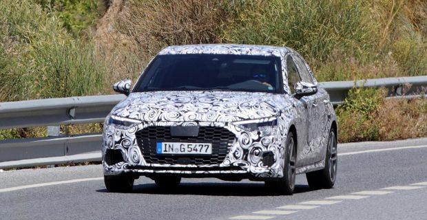 Erlkönig: Audi S3 bei Wärmetests in Südeuropa