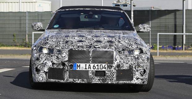 Erlkönig: BMW M4 Cabrio nahe des Nürburgrings