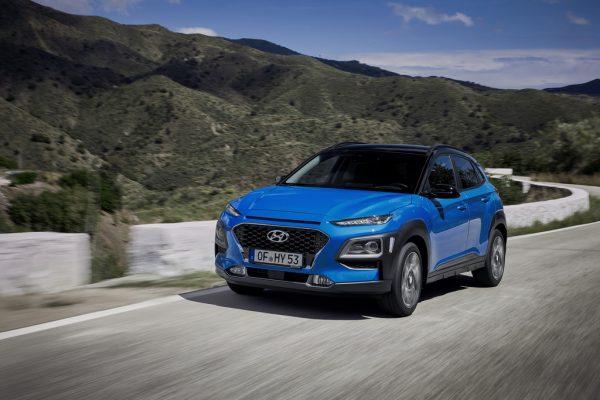 Hyundai bietet den Kona Hybrid zum Start in drei Ausstattungen