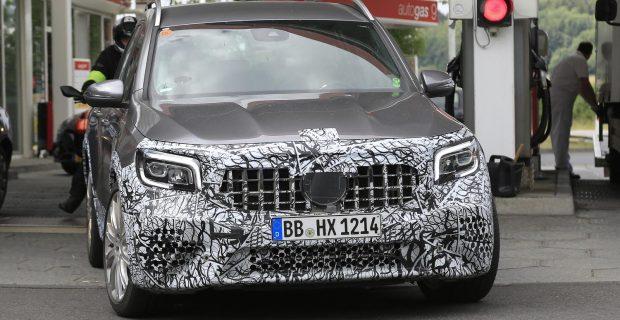 Erlkönig: Mercedes-AMG GLB nahe des Nürburgrings