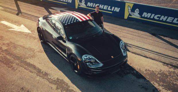 Porsche Taycan auf drei Kontinenten
