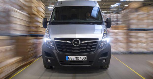 Opel öffnet die Bücher für den Movano