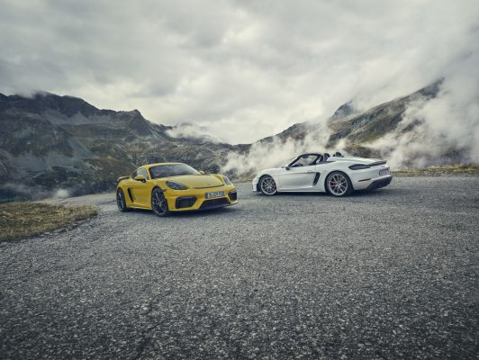 Porsche 718 Cayman GT4 und 718 Spyder