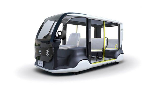 Toyota setzt Mobilitätsfahrzeug bei Olympiade ein