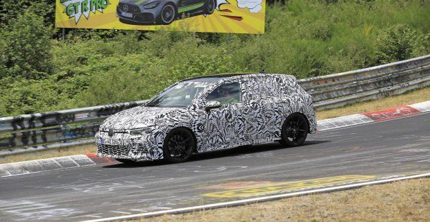 Erlkönig: VW Golf GTI in der Grünen Hölle