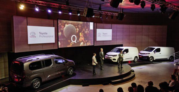 Vorstellung Toyota Proace: Angriff bei den leichten Nutzfahrzeugen