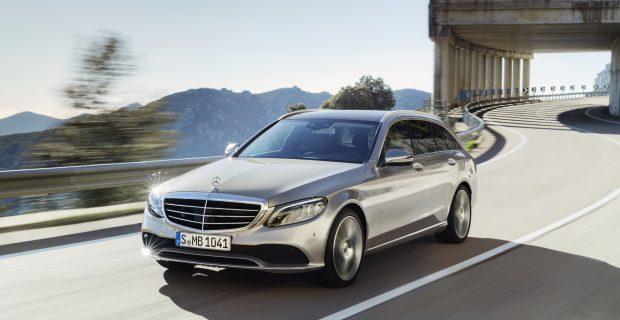 Angenehmer Reisekombi im noch kompakten Format: das Mercedes C-Klasse T-Modell.